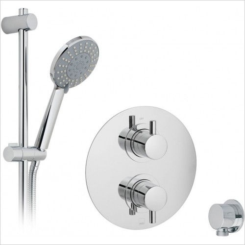 Vado - DX Celsius Round 1 Way Shower Package