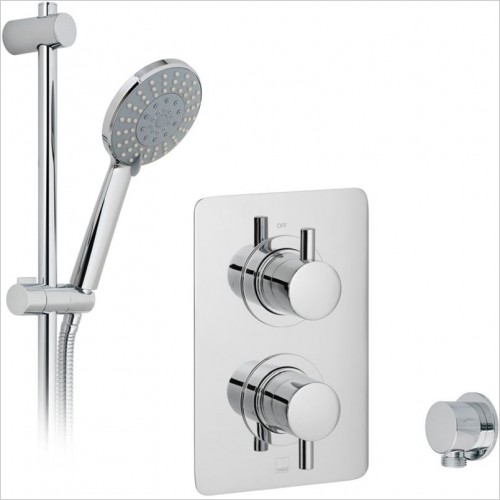 Vado - DX Celsius Square 1 Way Shower Package
