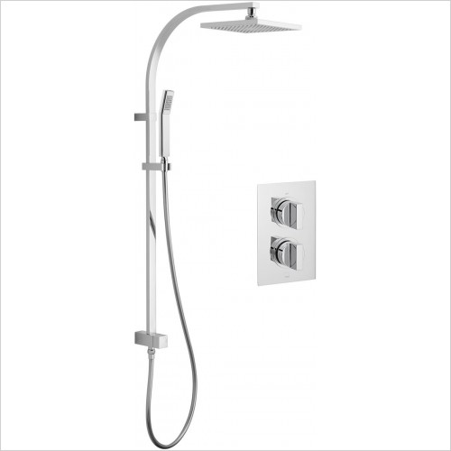 Vado - DX Notion 2 Way Rigid Riser Shower Package