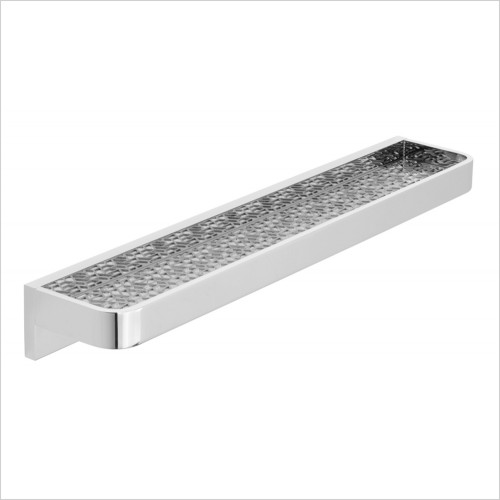 Vado - Omika Shelf With Geometric Insert 500mm