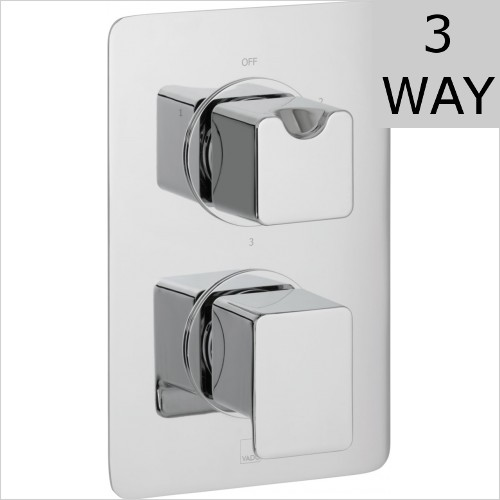 Vado - Phase DX 3 Outlet Thermostatic Valve