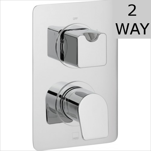 Vado - Photon DX 2 Outlet Thermostatic Valve