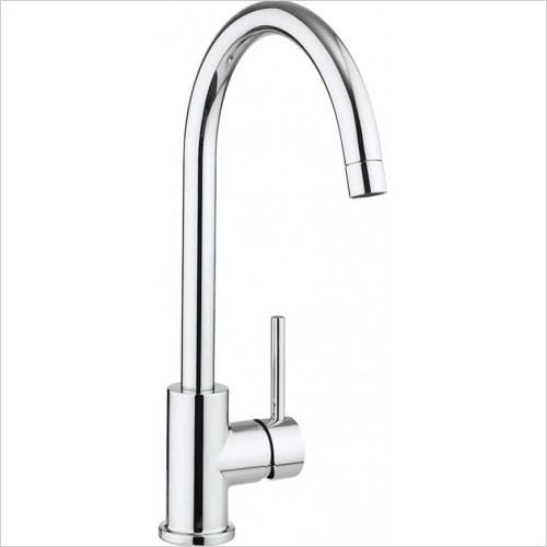 Crosswater - Tropic Side Lever Kitchen Mixer