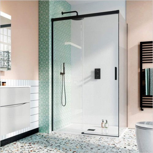 Crosswater - Design 8 Single Sliding Door With Soft Close 1200mm