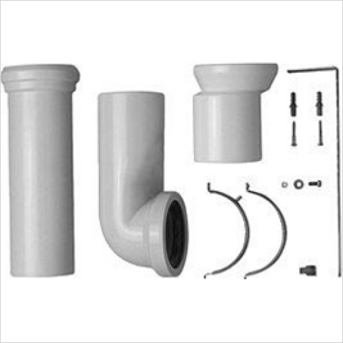 Duravit - Vario Connector Set For Horizontal & Vertical Outlet