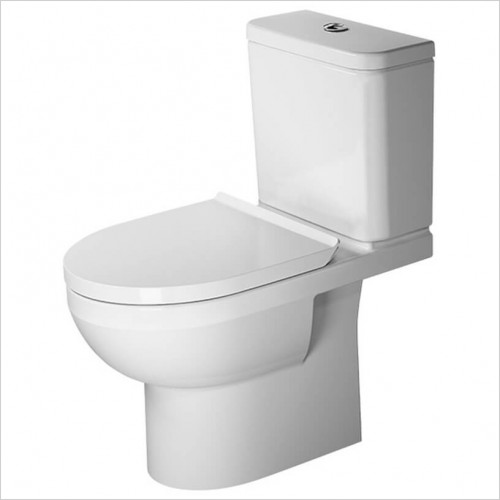 Duravit - DuraStyle Basic Close Coupled WC Rimless