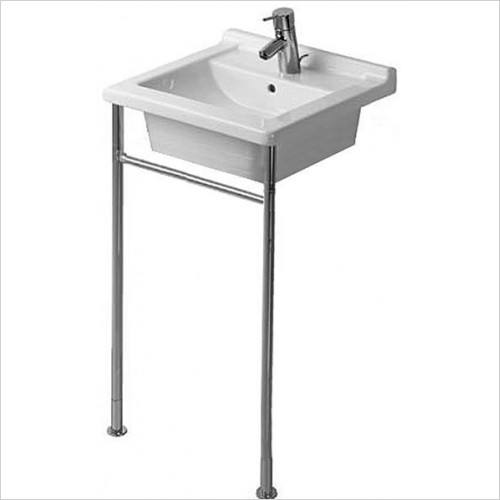 Duravit - Starck 3 Metal Console For Washbasin 480 x 465mm