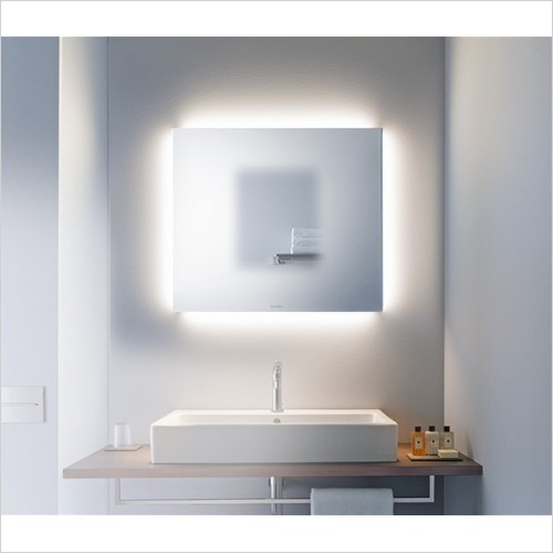 Duravit - Light & Mirrors Mirror With 4 Ambient Lights, Best, 600mm