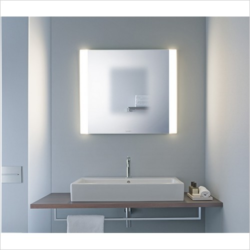 Duravit - Light & Mirrors Mirror With Dual Lights, Best, 600mm