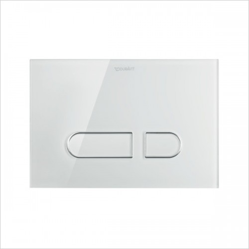 Duravit - DuraSystem Actuator Plate A1, For Toilet, Glass