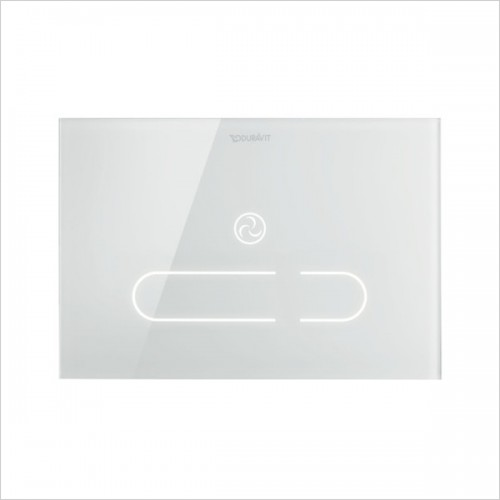Duravit - DuraSystem Actuator Plate A2, For Toilet, Glass