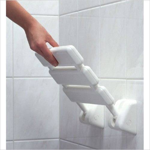 Lakes Bathrooms - Animo RD Shower Seat 320 x 320mm
