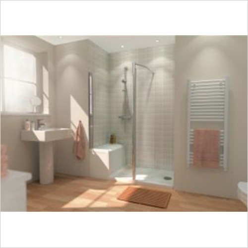 Lakes Bathrooms - Classic Shower Seat Tray 1500mm x 800mm