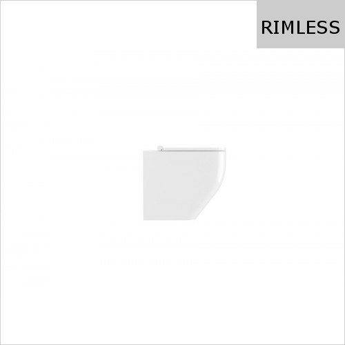 Crosswater - Infinity Rimless Back To Wall Toilet