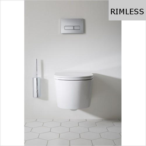 Crosswater - Pier Rimless Wall Hung WC