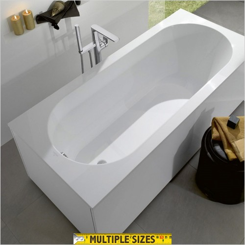 Villeroy & Boch - Soho Single Ended Quaryl Bath 1600 x 750mm