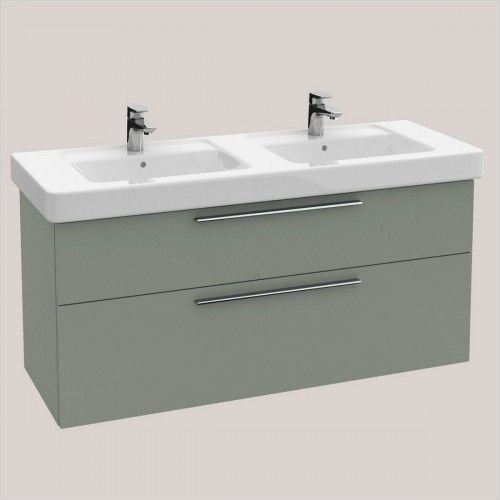 Villeroy & Boch - Soho Vanity Unit With 2 Drawers For 1300mm Double Basin