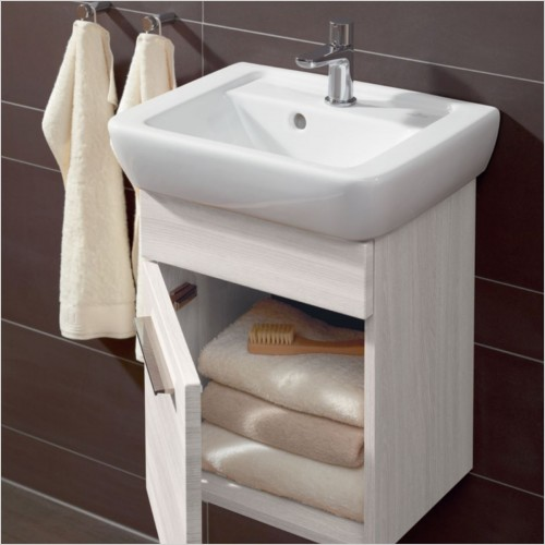 Villeroy & Boch - Soho Vanity Unit With 1 Door For 450mm Cloakroom Basin
