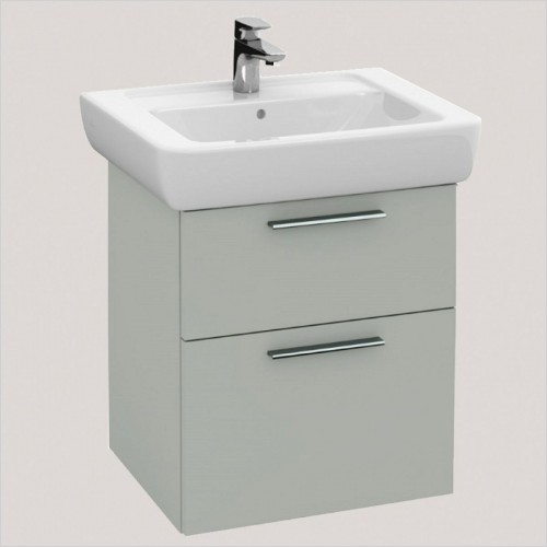 Villeroy & Boch - Soho Vanity Unit With 2 Drawers For 550mm Basin