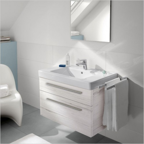 Villeroy & Boch - Subway Vanity Unit With 2 Drawers For 800mm Basin