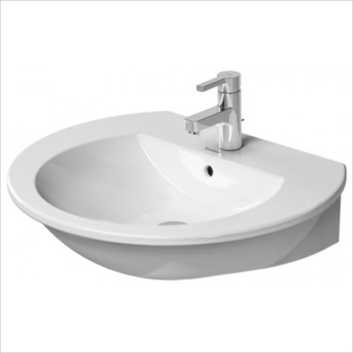 Duravit - Darling New Washbasin 650 x 540mm With 1 Tap Hole