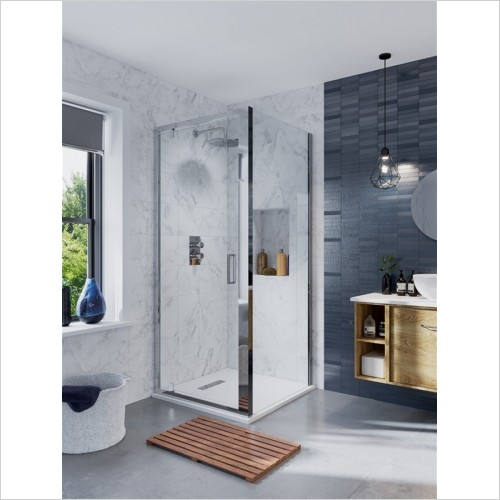 Crosswater - Infinity Pivot Door 900mm