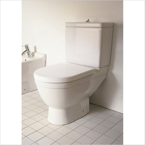 Duravit - Starck 3 Toilet Close Coupled