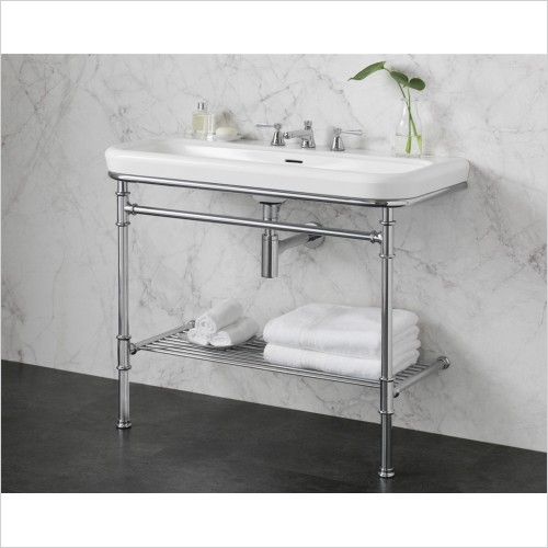 Victoria & Albert - Metallo 100 Washstand With Basin