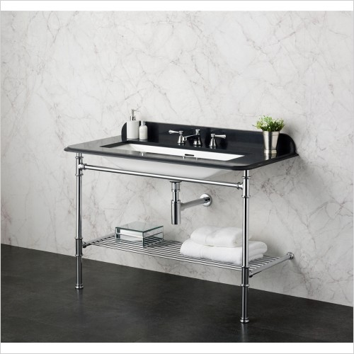 Victoria & Albert - Metallo 113 Quartz Washstand With Basin