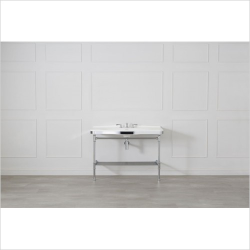 Victoria & Albert - Metallo 114 Washstand With Basin
