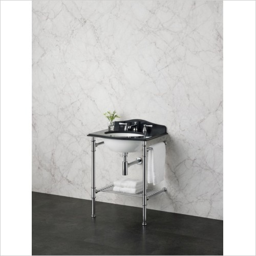 Victoria & Albert - Metallo 61 Quartz Washstand With Basin