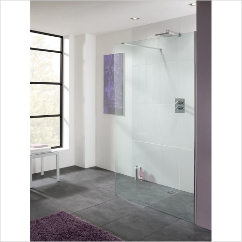 Lakes Bathrooms - Cannes 10mm Walk-In Panel 700mm