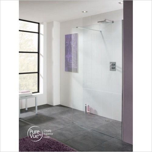 Lakes Bathrooms - Cannes 8mm Walk-In Panel 200mm