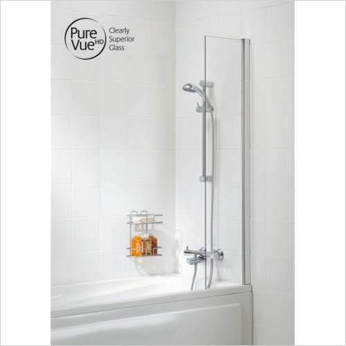 Lakes Bathrooms - Classic Shower Curtain Panel 300 x 1400mm