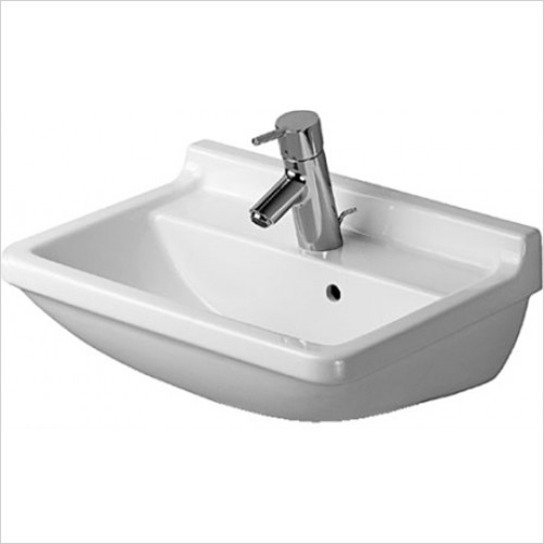 Duravit - Starck 3 Washbasin 500 x 360mm - 1 Tap Hole