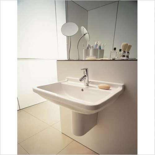 Duravit - Starck 3 Washbasin 600 x 450mm - 1 Tap Hole