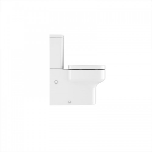 Crosswater - Kai S Compact Close Coupled Toilet
