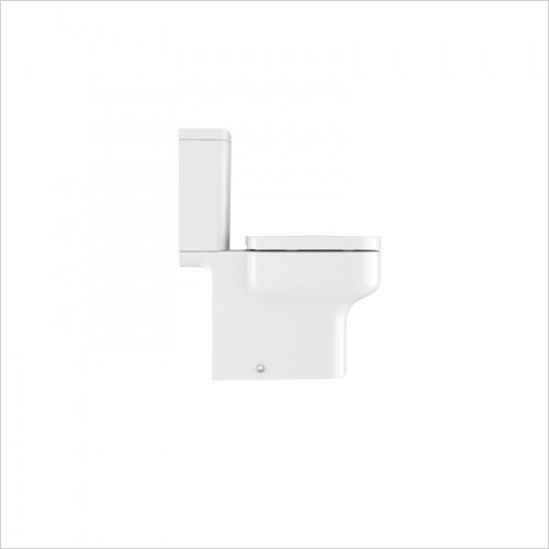 Crosswater - Kai S Compact Close Coupled Toilet Open