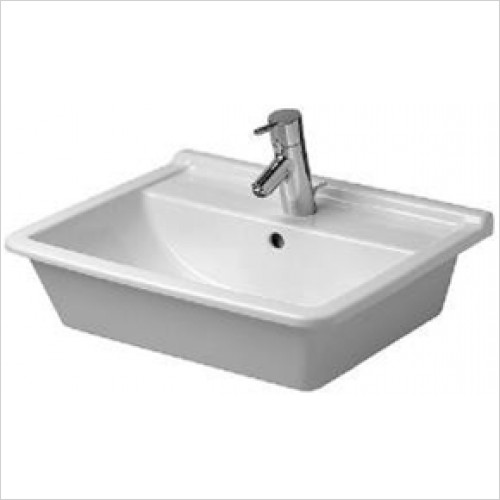 Duravit - Starck 3 Countertop Basin 560 x 460mm