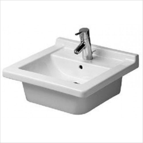 Duravit - Starck 3 Washbasin 480 x 465mm - 1 Tap Hole