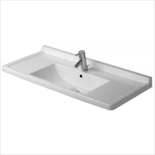 Duravit - Starck 3 Washbasin 1050 x 485mm - 1 Tap Hole