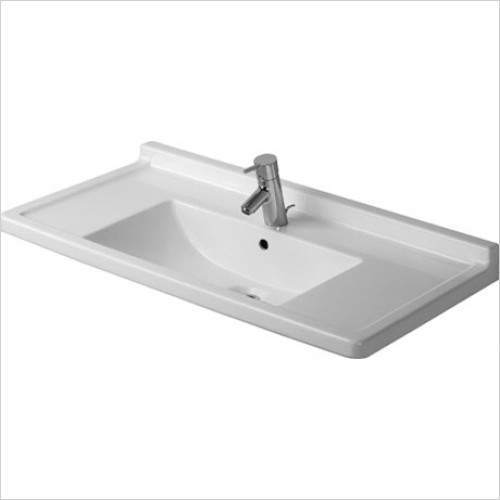 Duravit - Starck 3 Washbasin 850 x 485mm - 1 Tap Hole