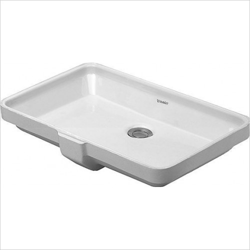 Duravit - 2nd Floor Undercounter Washbasin 525 x 350mm