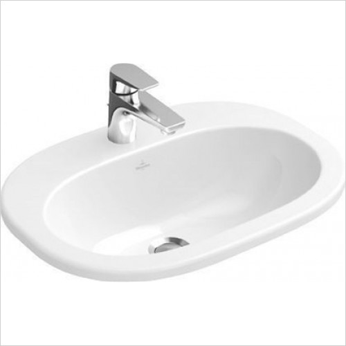 Villeroy & Boch - O.Novo Built In Washbasin 560 x 405mm