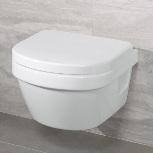 Villeroy & Boch - Architectura Wall Hung Compact WC & Soft Close Seat Pack