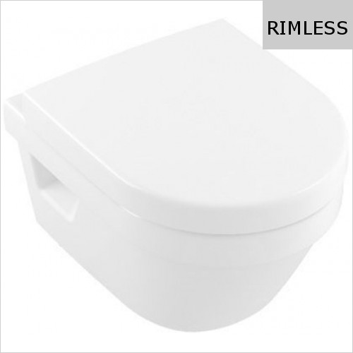 Villeroy & Boch - Architectura Wall Hung WC, Rimless, Compact