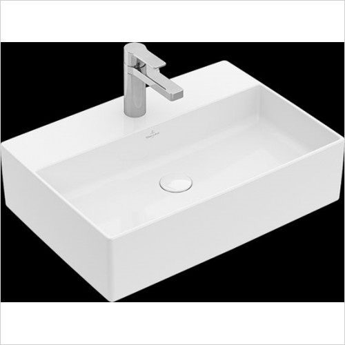 Villeroy & Boch - Memento 2.0 Surface-Mounted Washbasin 500 x 420mm