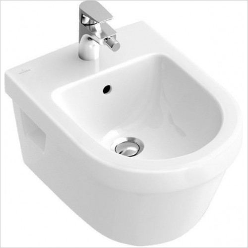 Villeroy & Boch - Architectura Oval Design Wall Hung Bidet 370 x 530mm