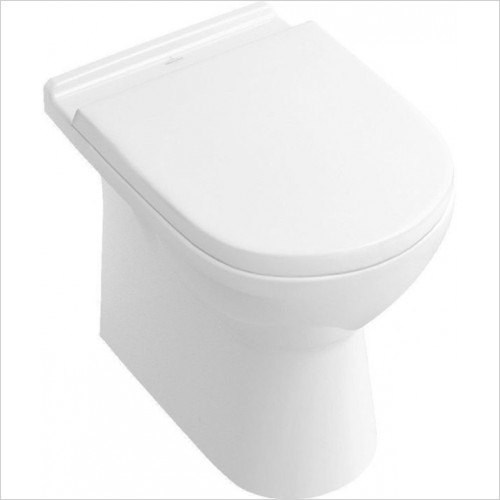 Villeroy & Boch - O.Novo Floorstandign Back To Wall WC