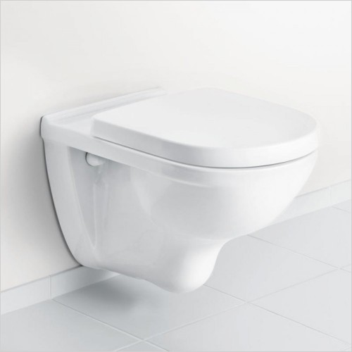 Villeroy & Boch - O.Novo Wall Hung WC & Soft Close Seat Pack